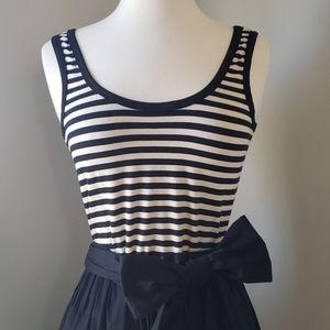 DKNYC a-line dress with bow